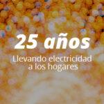 25 AÑOS CREANDO SOLUCIONES ELÉCTRICAS